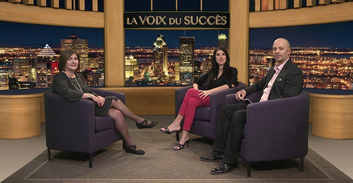 Invité à l'émission La Voix du Succès pour parler des bienfaits de l'hypnose